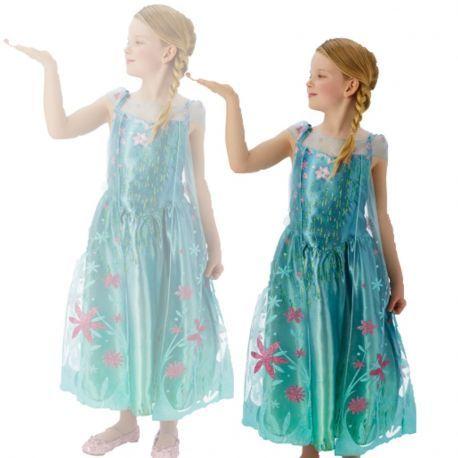 #Disfraz de #Elsa #Fever Deluxe Infantil Perfecto para tus fiestas, mercadisfraces tú #tienda de #disfraces #online