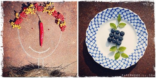summer, smile, collage, blueberry, russia, plate
