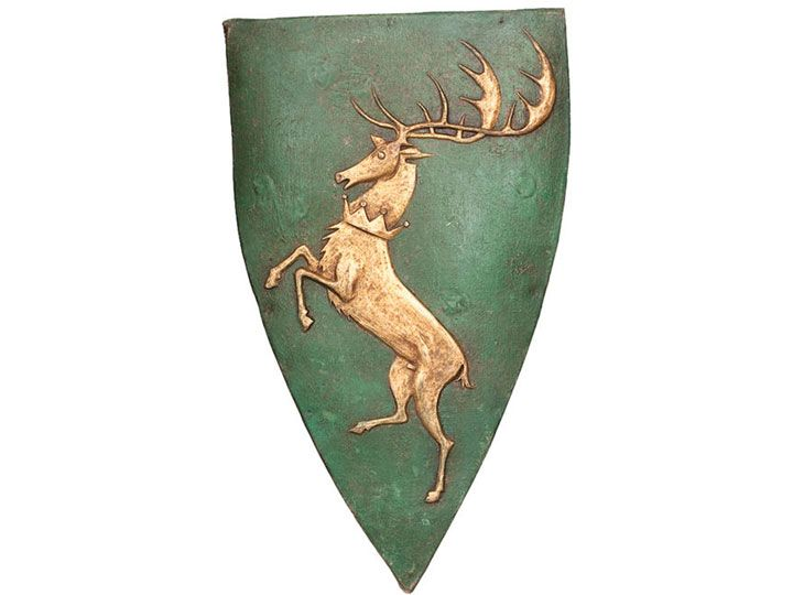 #transformer game of thrones house shield wall plaque - renly baratheon exclusive