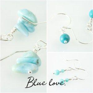 #teal #earrings #amazonite  #turquoise
