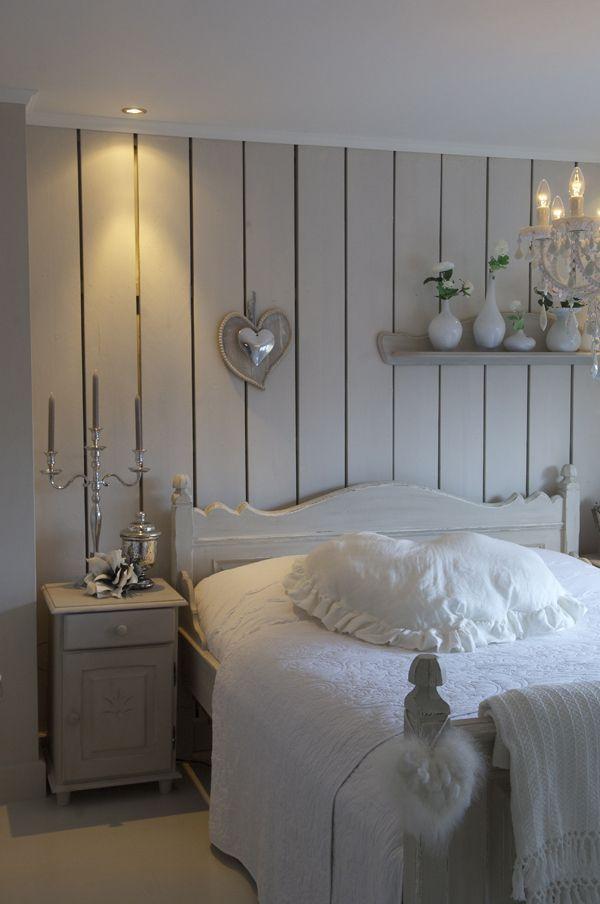 Slaapkamer in het wit