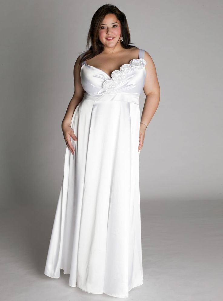 plus size simple wedding dresses