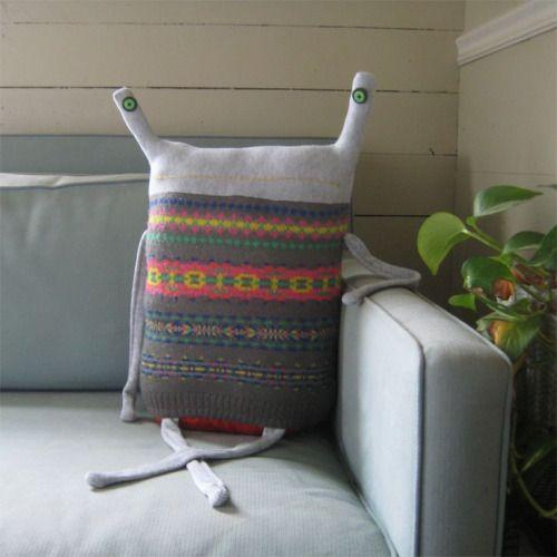 Beast Pillows by Debi van Zyl.Shop HereLustik: twitter   pinterest   etsy
