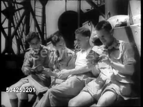 Высадки союзников Сицилия Италия 1943 (footage)
