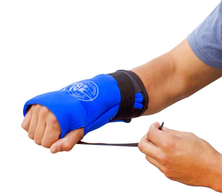 Ice Packs For Injuries Wrist Cold Therapy Wrap Reduces Pain Swelling  Any Hand #ProIce