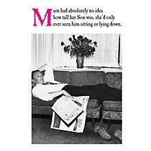 Buy Emotional Rescue Sitting Mother's Day Card Online at johnlewis.com