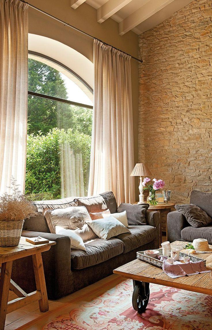 Las 25 mejores ideas sobre paredes interiores de piedra en - Piedra paredes interior ...