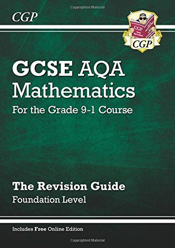 New GCSE Maths AQA Revision Guide: Foundation - for the G... https://www.amazon.co.uk/dp/1782943919/ref=cm_sw_r_pi_dp_x_1FmCzbXKXV94V