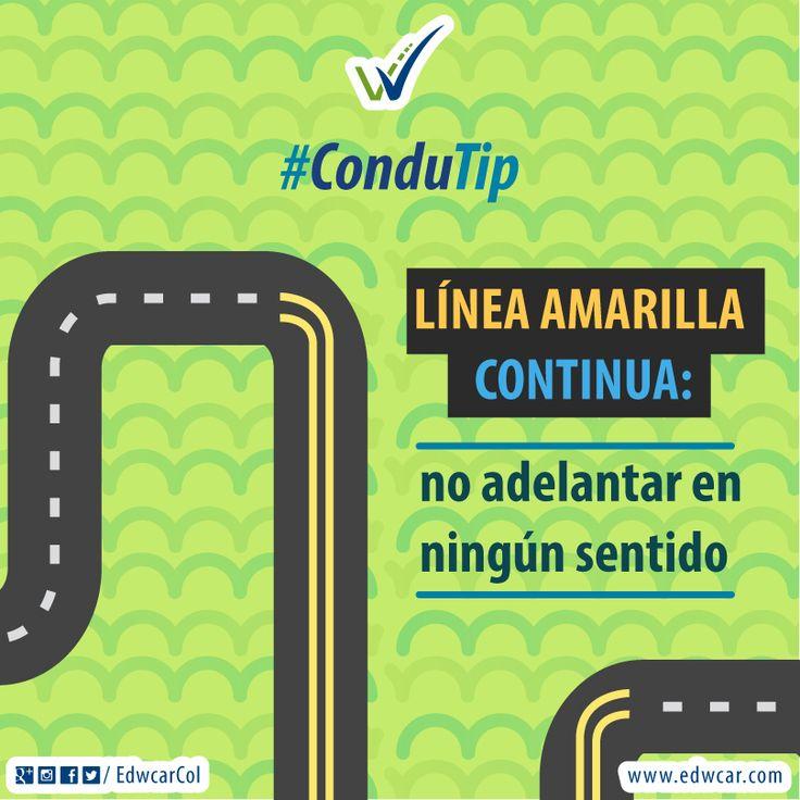 #ConduTip Conocer las señales de tránsito es el principio para preservar la #VidaEnLavía. #Carretera #Conducir #RoadTrip #Trip #Road #CulturaVial #EducaciónVial #SeguridadVial