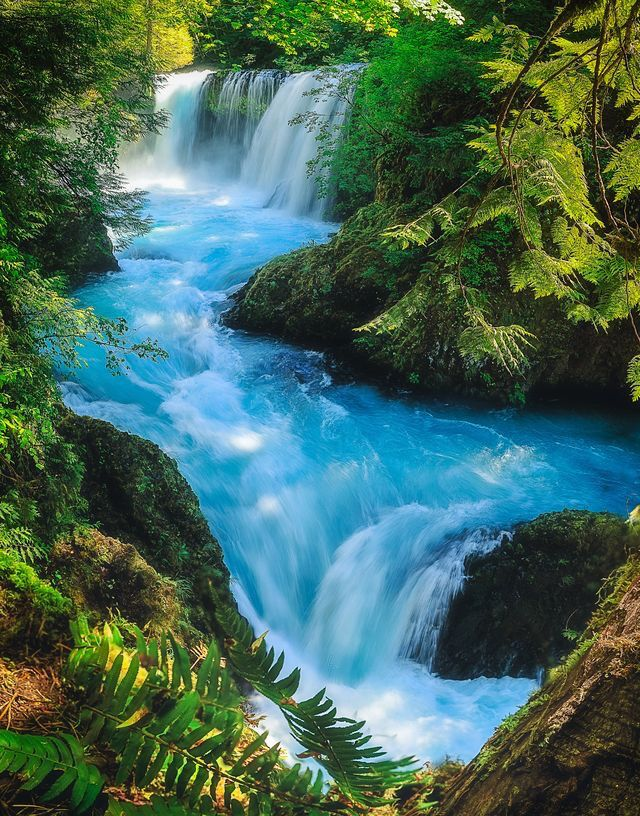 Magic Spirit Falls By Micheal Beautiful Nature Beautiful Waterfalls Beautiful Landscapes