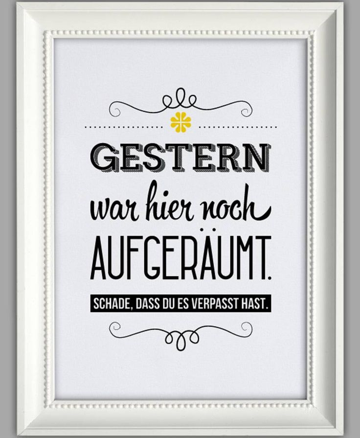 "Smart Art ★ Kunstdruck ""Aufgeräumt"""