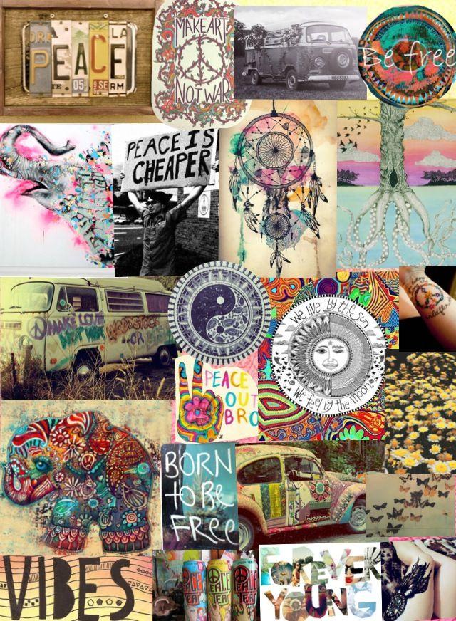 ☮American Hippie Hippie Life Wallpaper Shop Ruby Lane