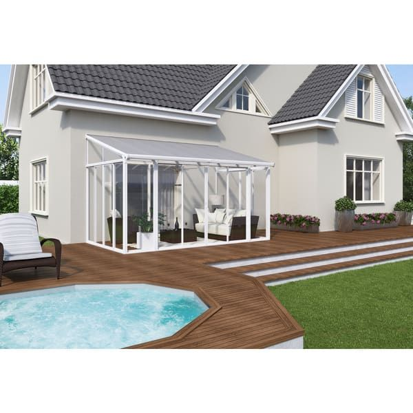 Palram SanRemo White 10ft. X 14ft. Patio Enclosure | DIY Pond U0026 Patio |  Pinterest | Patio Enclosures, Patios And Prefab