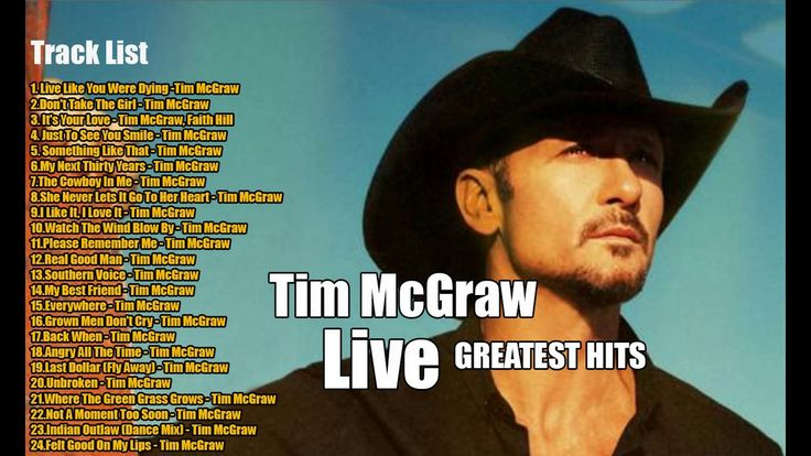 The Best Of Tim McGraw - Tim McGraw Greatest Hits Full Album (Live) - YouTube