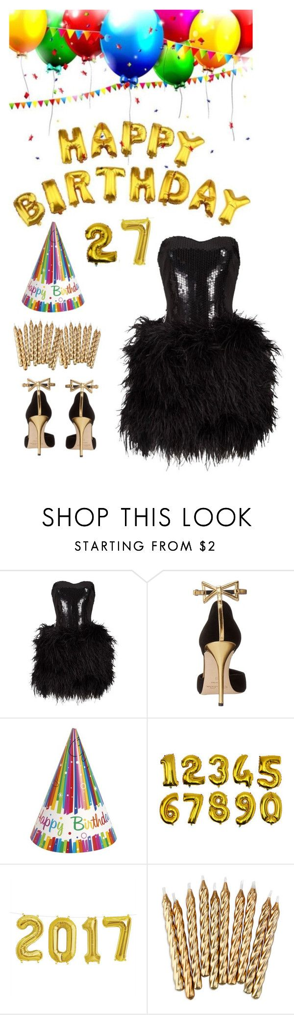 """""""Today is my birthday ^_^"""" by ruru833 ❤ liked on Polyvore featuring Lillie Rubin and Oscar de la Renta"""