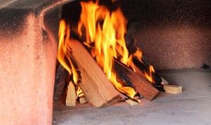 How to light the fire in your wood fired oven.