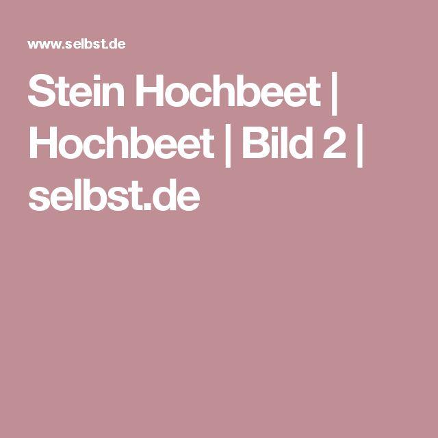 Stein Hochbeet  | Hochbeet | Bild 2 | selbst.de