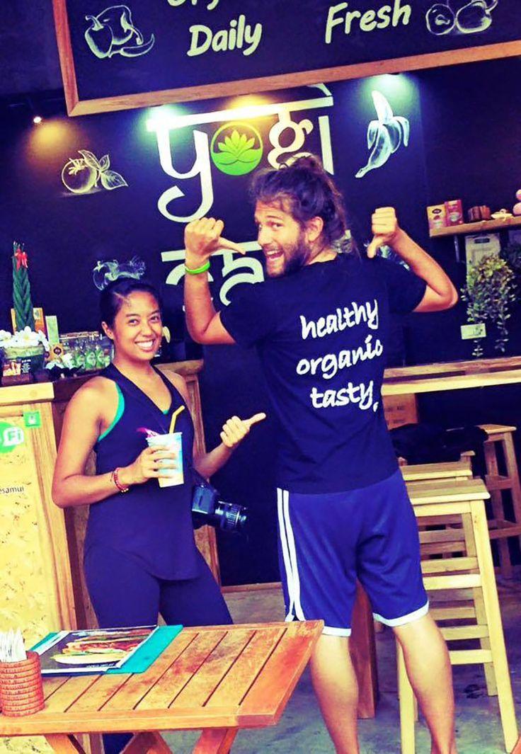 #JordyPoggi: intervista #BIGvegan al bravissimo #Vegan #Raw #Chef di #Bologna trasferitosi in #Thailandia! Nella foto Jordy al lavoro nell'isola di #KoSamui presso la catena #YogiBar  http://www.vegangame.it/business-vegan/jordy-poggi-la-thailandia-intervista-al-talentuoso-raw-vegan-chef-bolognese