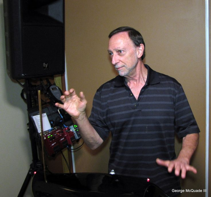 Skilled Artist, Technician and Theremin Musician Ed Sussman illustrates how to play it.