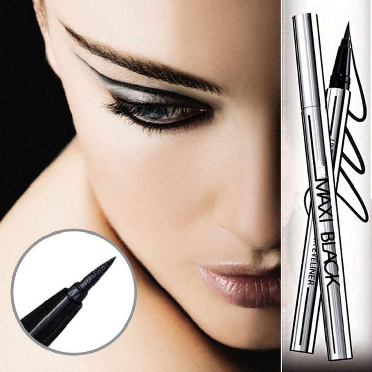 Líquido impermeable Delineador de ojos de Larga Duración Delineador de Ojos Lápiz Maquillaje de La Pluma