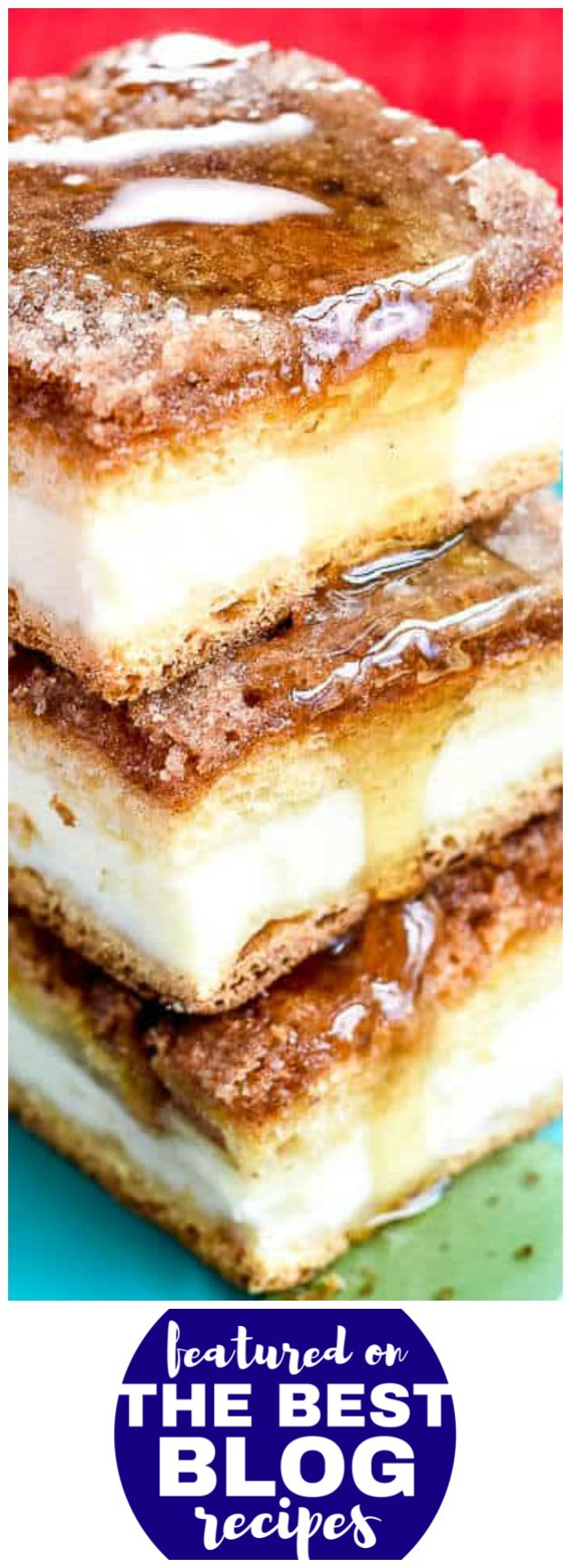 SOPAPILLA CHEESECAKE BARS from Flavor Mosaic are #11 on our list of the BEST DESSERT BAR RECIPES || Featured on The Best Blog Recipes with the original bloggers permissions #dessert #cheesecake #sopapilla #recipe