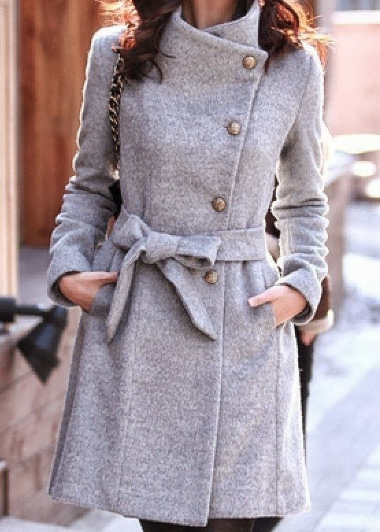 Gorgeous grey wool jacket!