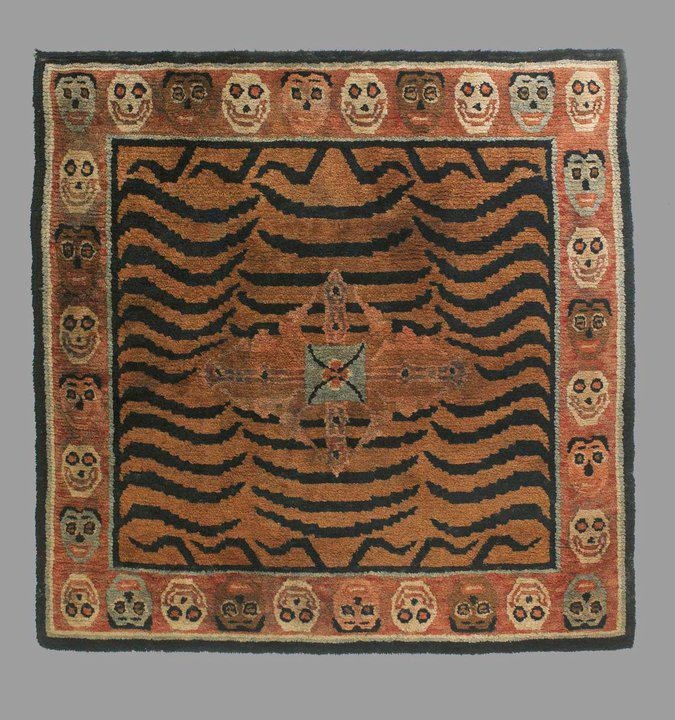 496 Best Chinese ,tibetan Carpets Images On Pinterest