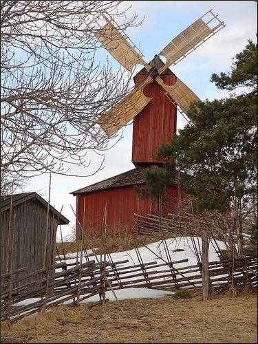 18th century farm traditions, Jan Karlsgården Open Air Museum, Åland Islands (between Finland and Sweden)