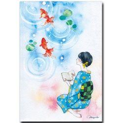 http://image.shoppingfeed.jp/w/wad/wadoraku.pv/orig/70-704.jpg 金魚と浴衣