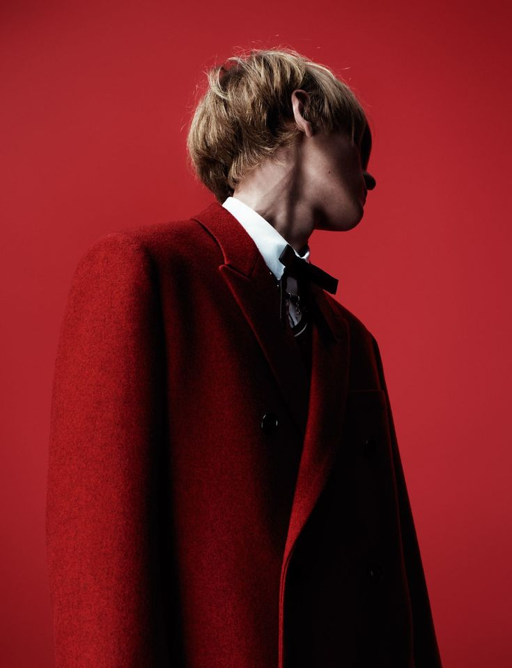 Photography Willy Vanderperre Nathan Dionisio wears All Clothing Kris Van Assche for Dior Homme