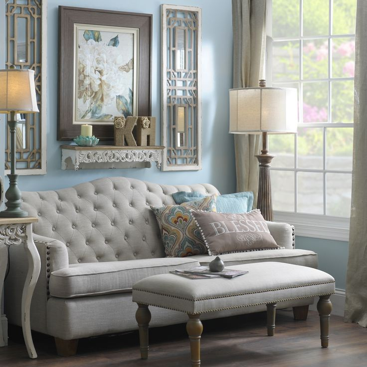 Bring an elegant charm into your living room with pieces for Kirkland living room ideas