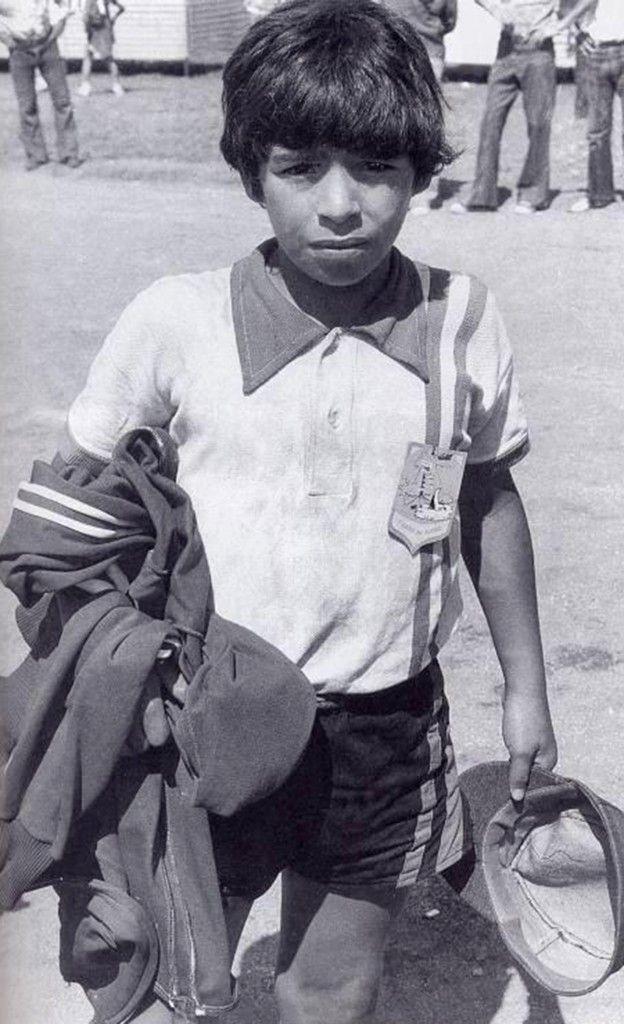 56 looks de Diego Maradona