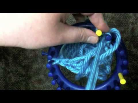 How to Loom Knit the Kitchener Stitch