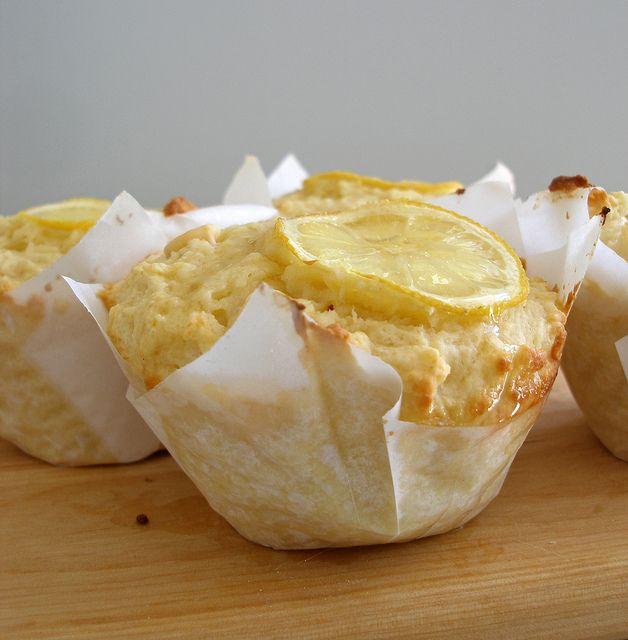 Lemon and White Chocolate Muffins by MrPuffy, via Flickr recipe here: nzfavouriterecipe.co.nz/recipes/desserts/198-zingy-lemon-and-white-chocolate-muffins