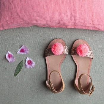 Bobble sandals #Romiapproved