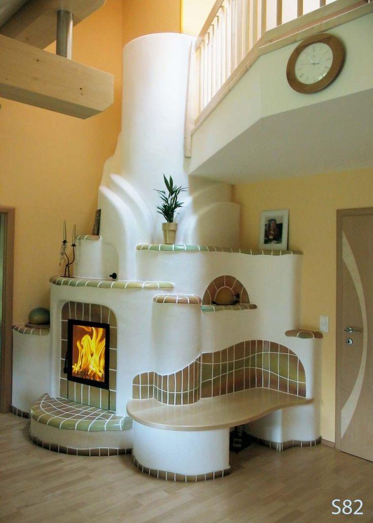 дизайн печки в доме в картинках вкус