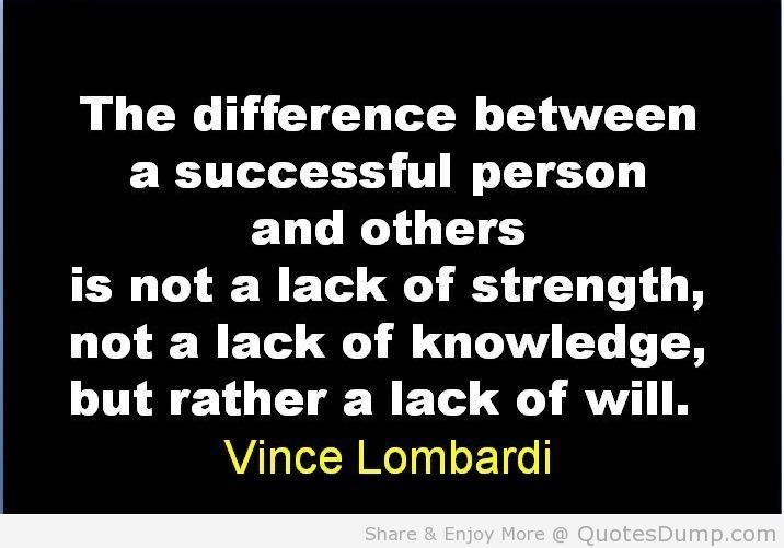 Lombardi Quotes Motivation On Quotestopics