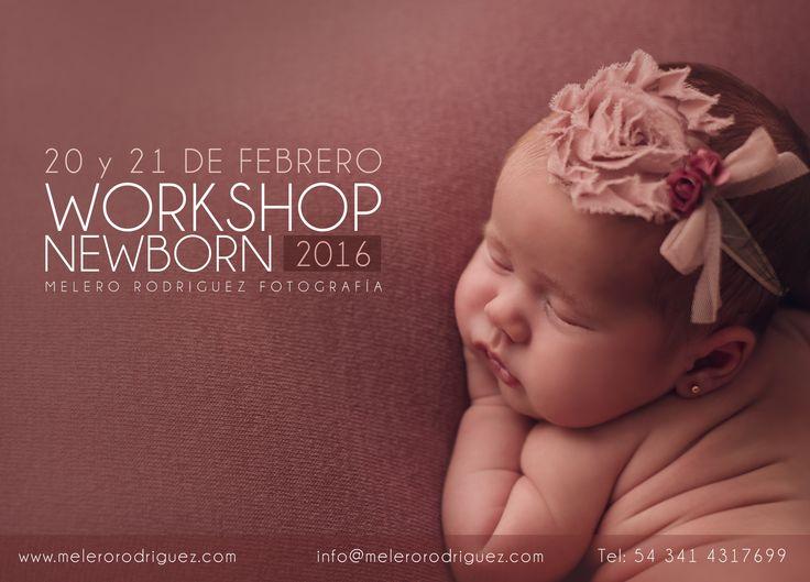 FEBRERO 20 Y 21 WORKSHOP NEWBORN ROSARIO.  Quedan solo 3 lugares! melero rodriguez newborn photography © 2016