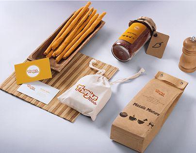"Check out new work on my @Behance portfolio: ""Thanjus Foods  -  Branding"" http://be.net/gallery/36511825/Thanjus-Foods-Branding"