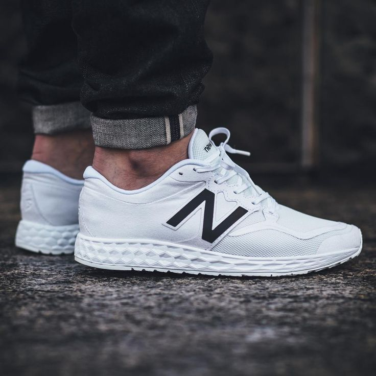 new balance white shoes mens