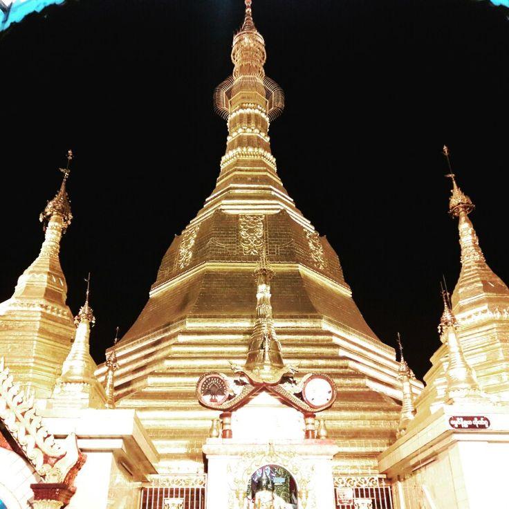 #SulePagoda #Yangon #Myanmar #Burma The requested donation is 3000 kyat ($3).