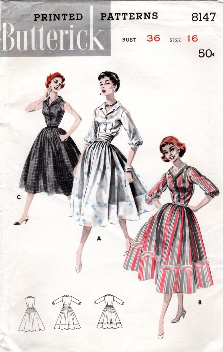 133 best Vintage Sewing Patterns images on Pinterest   Customs ...