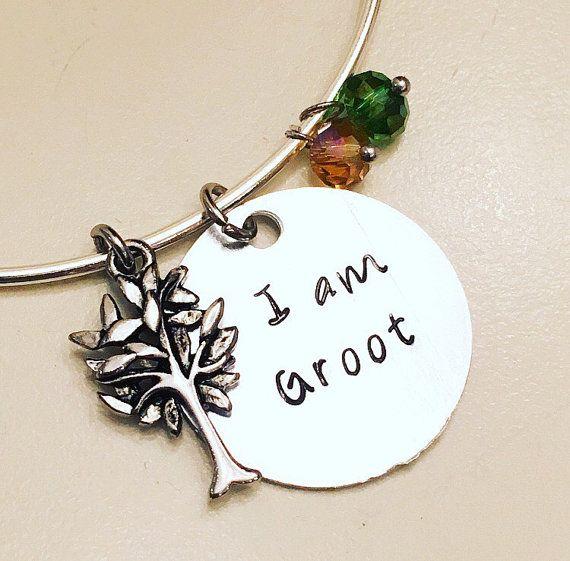 I Am Groot (adjustable bangle)   #gotg #guardiansofthegalaxy #groot #vindiesel #marvel #mcu #comics #marvelcomics