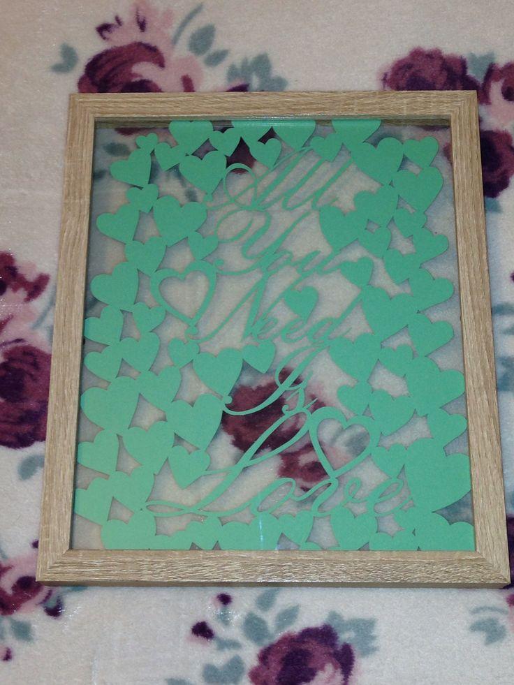 Paper panda template handcut by me x