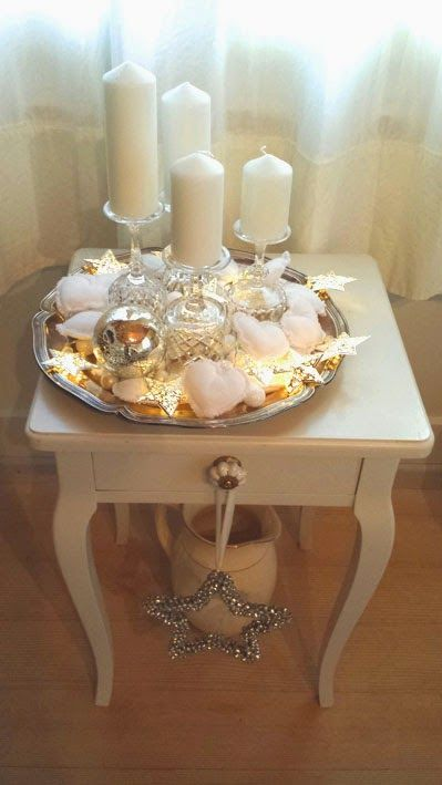 Adventskranz                                                                                                                                                                                 Mehr (Diy Candles Centerpieces)