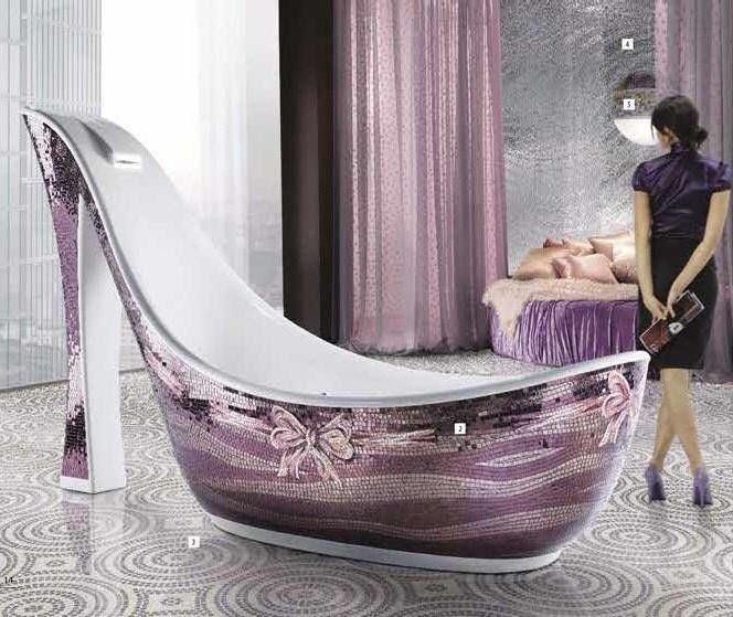 Shoes and baths... my two favourite loves... don't ask me to plumb it in girls cos it costs a fortune!