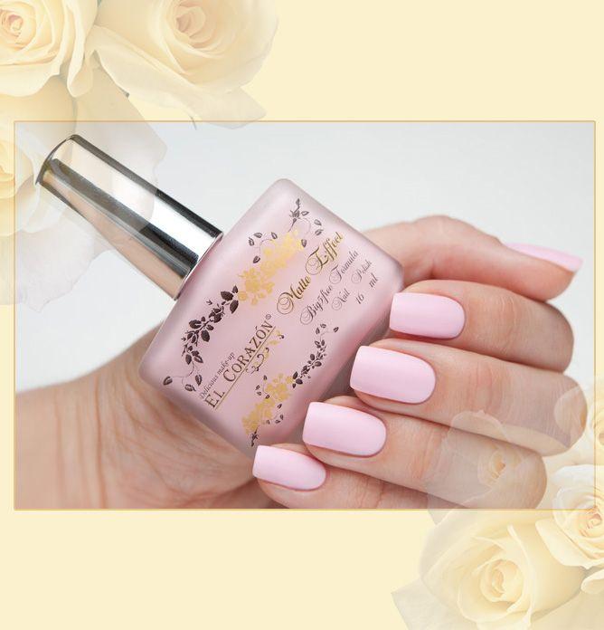 матовый лак для ногтей, EL Corazon® Matte Effect №111