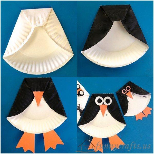 Paper Plate Animal Crafts | funnycrafts