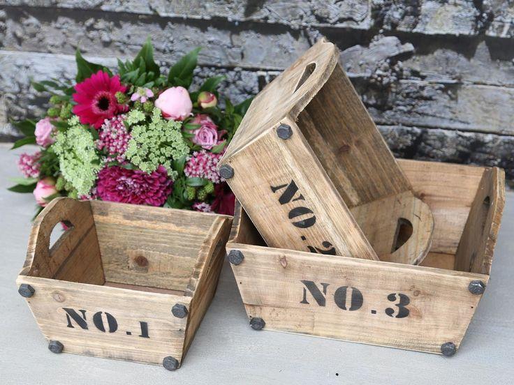 Ящики для цветов № 1-2-3 (сет из 3 шт.)