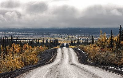 Ultima Thule: Inuvik on the Mackenzie delta, Northwest Territories (NWT) of…